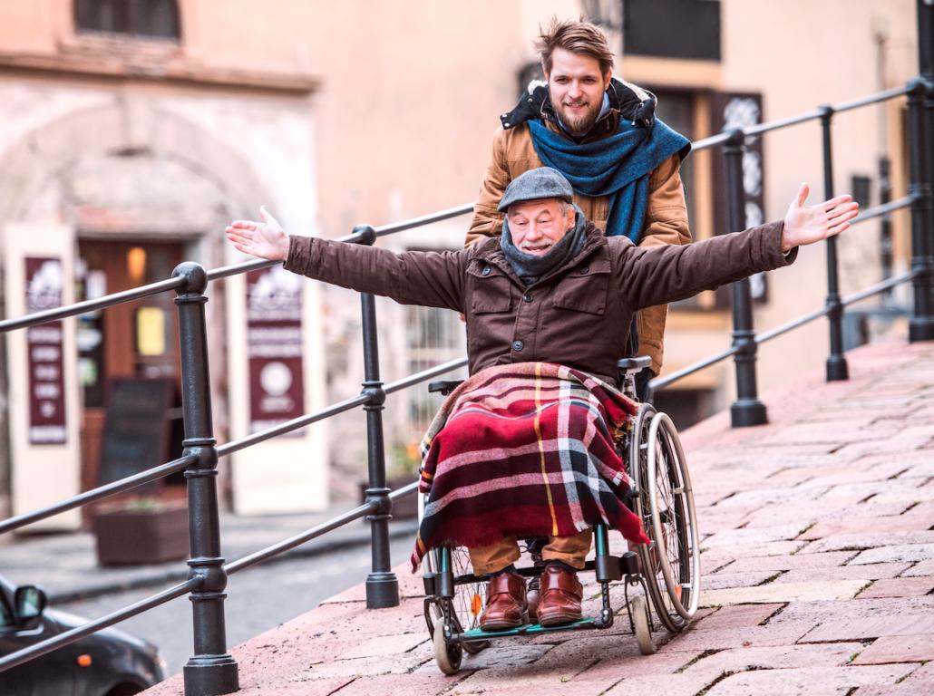 silla ruedas envejecimiento