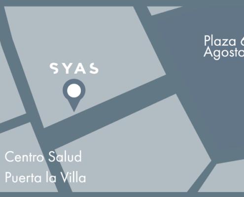 Mapa de ubicacion LOCAL SYAS gijon